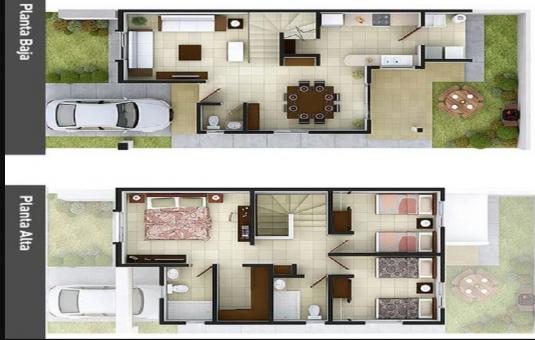 Bernas Id Desain Rumah Minimalis 2 Lantai 6x12 Untuk Wujudkan Hunian Impian